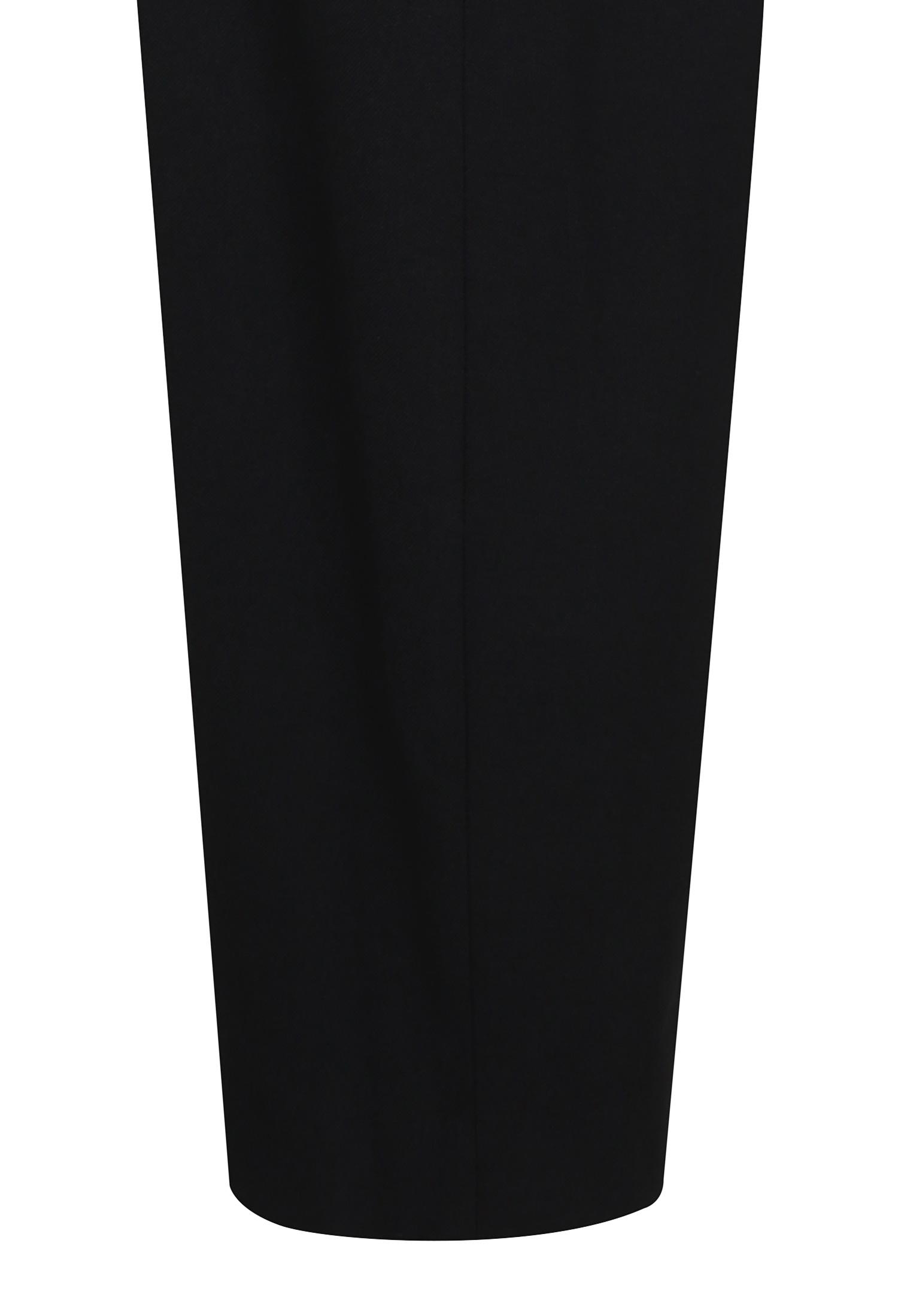 린넨 혼방 배기핏 팬츠 (BLACK)