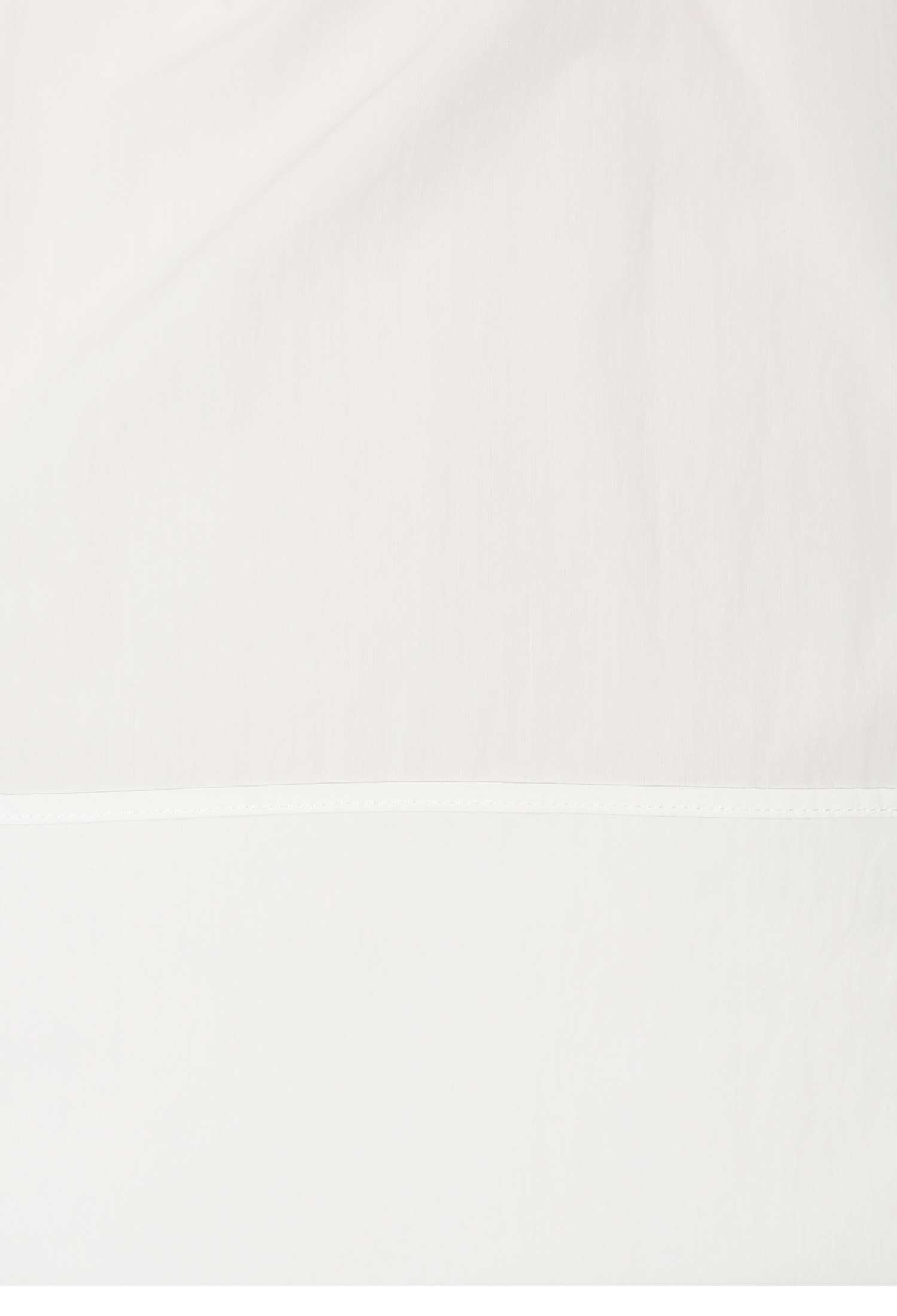 슬릿 칼라 니트 배색 블라우스 (WHITE)