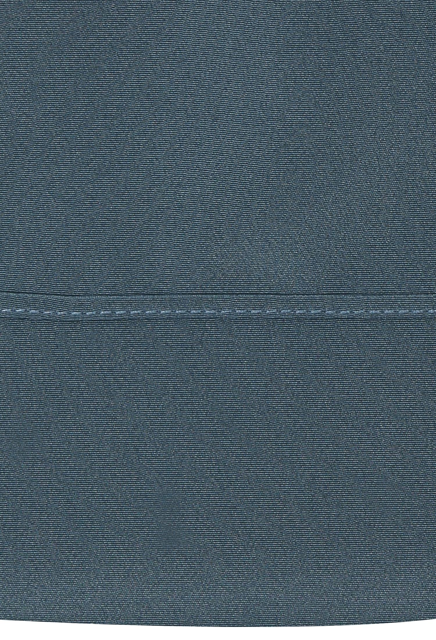 주름 장식 벌룬 소매 블라우스 (BLUE)