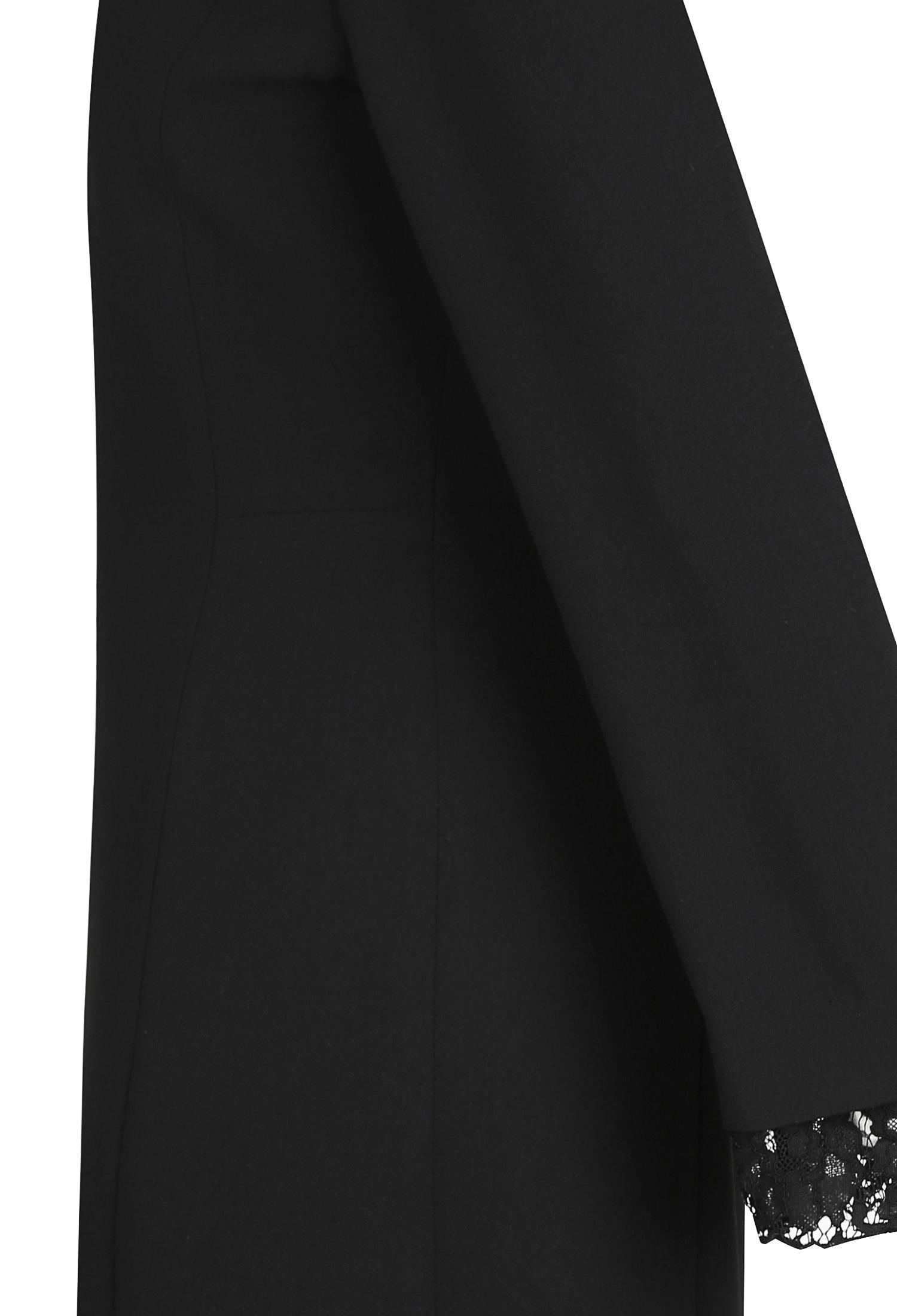 레이스 블록 원피스 (BLACK)
