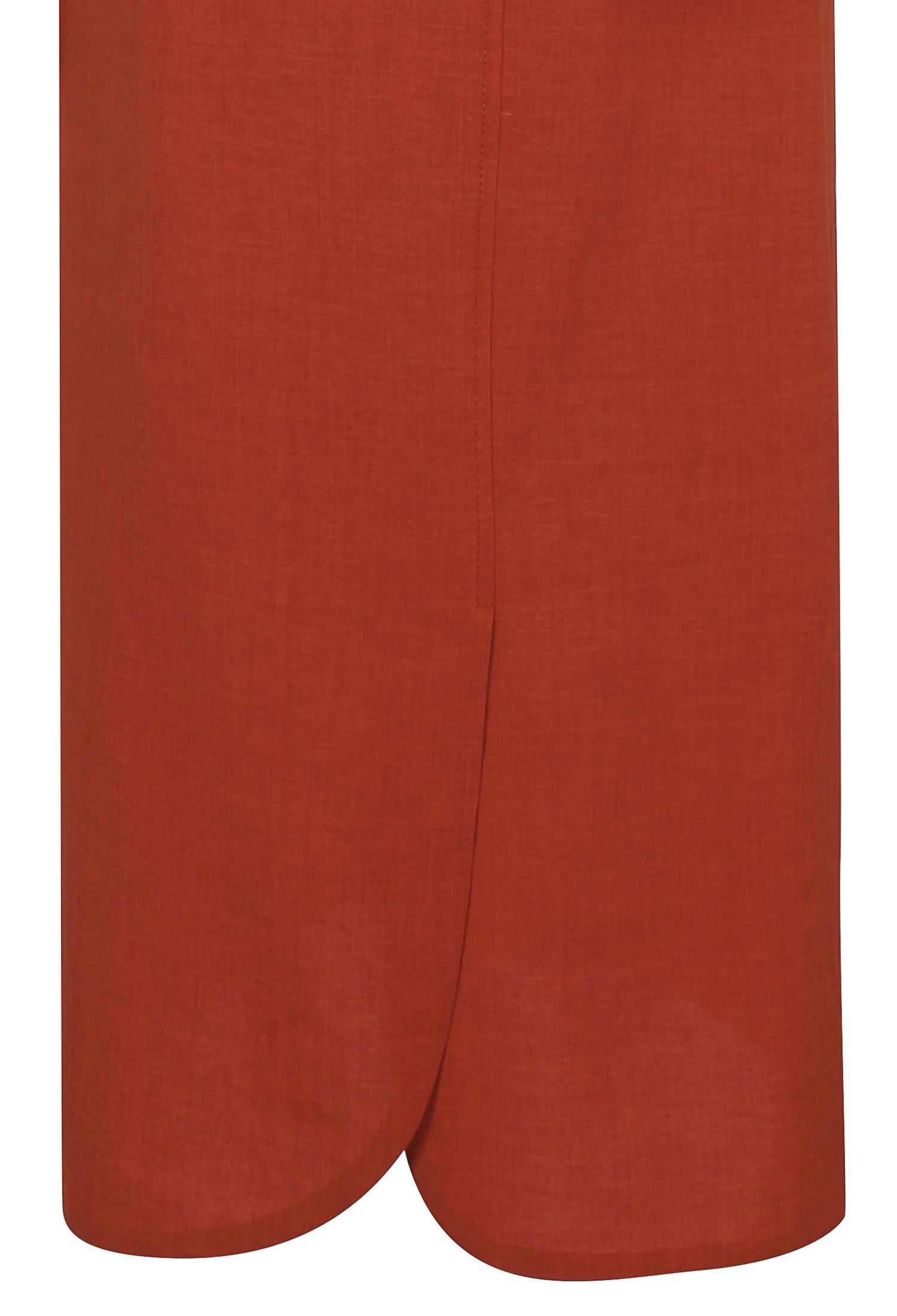 포켓 디테일 셔츠 원피스 (ORANGE)