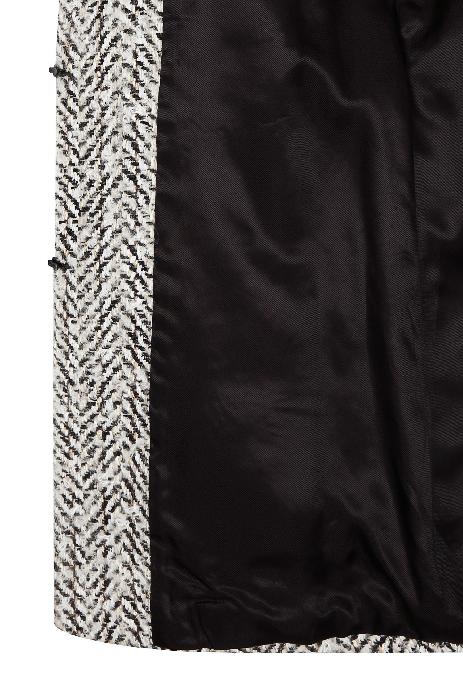 체인 브레이드 트위드 자켓 (BLACK)