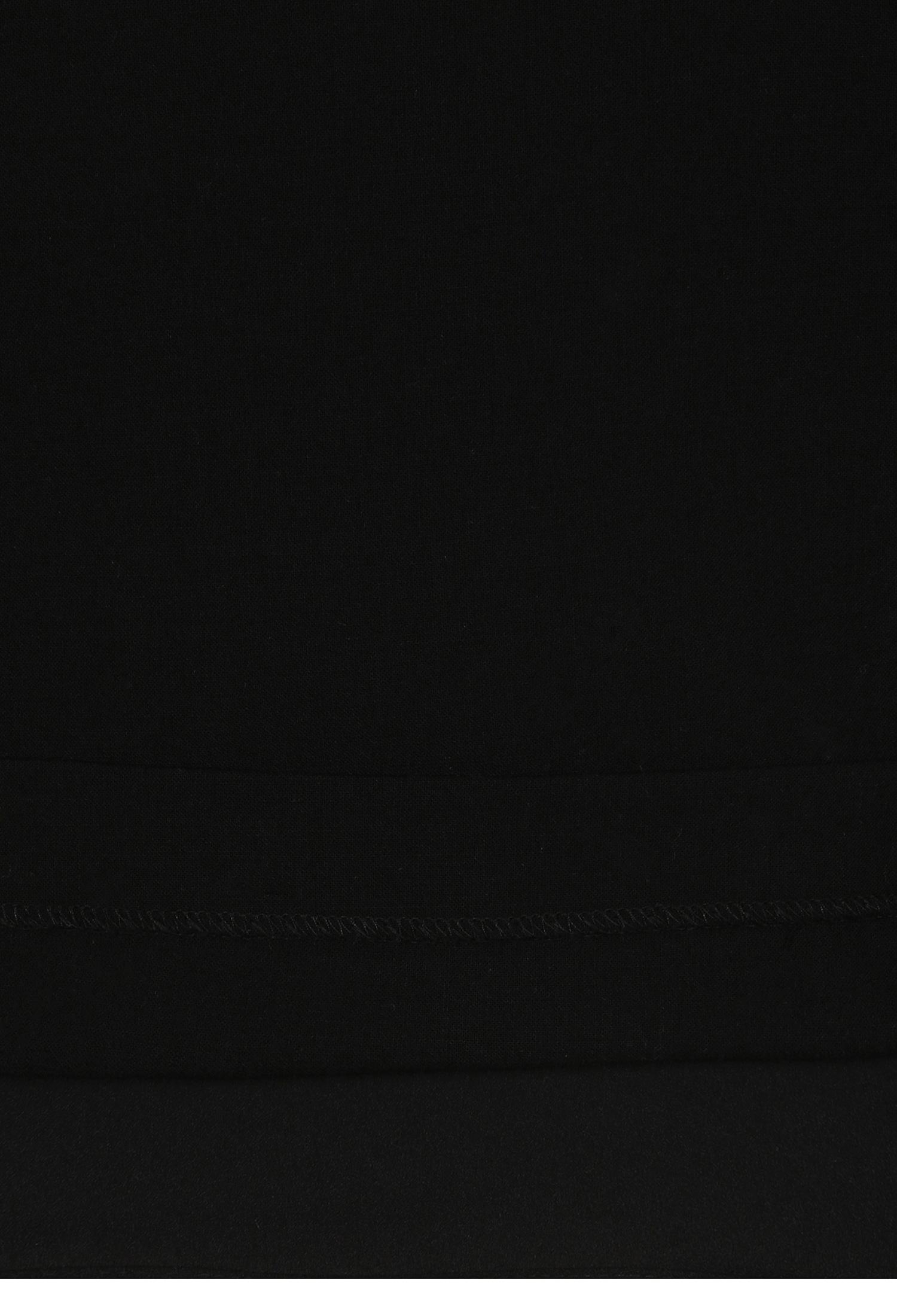 스커트 주름 울 스캘럽 원피스 (BLACK)