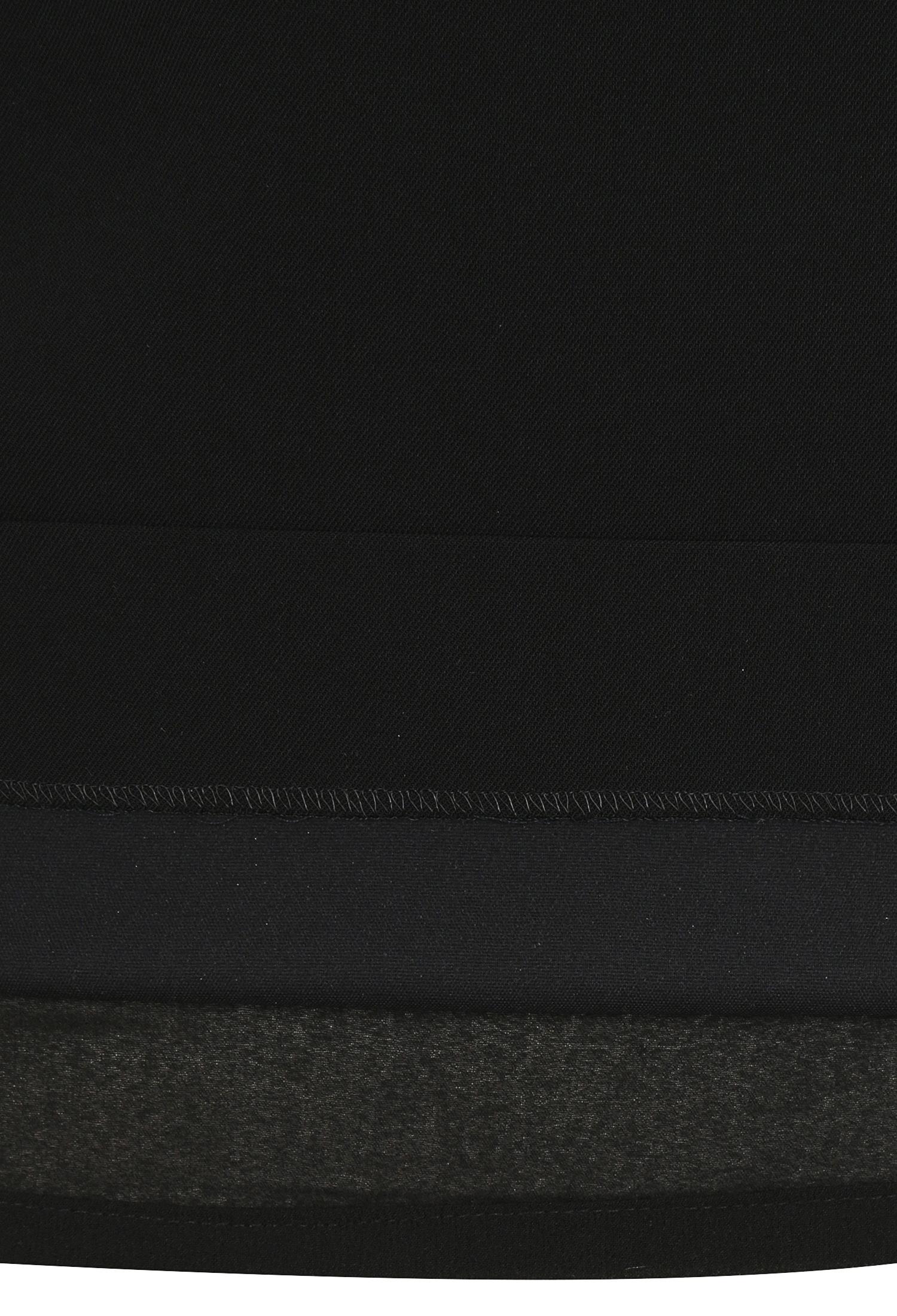 백 슬릿 스판 혼방 스커트 (BLACK)