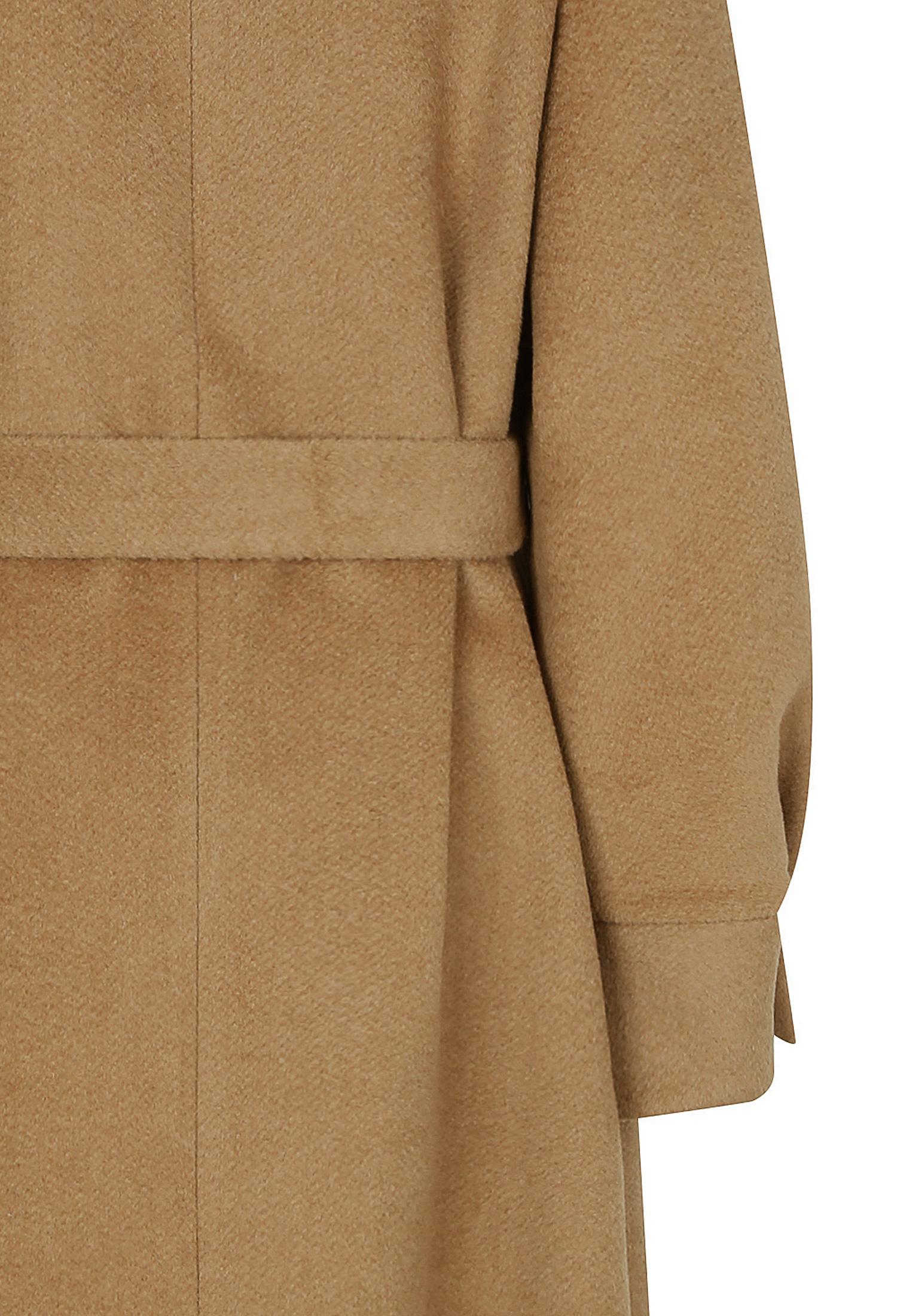 투웨이 칼라 볼륨 소매 카멜 코트 (CAMEL)