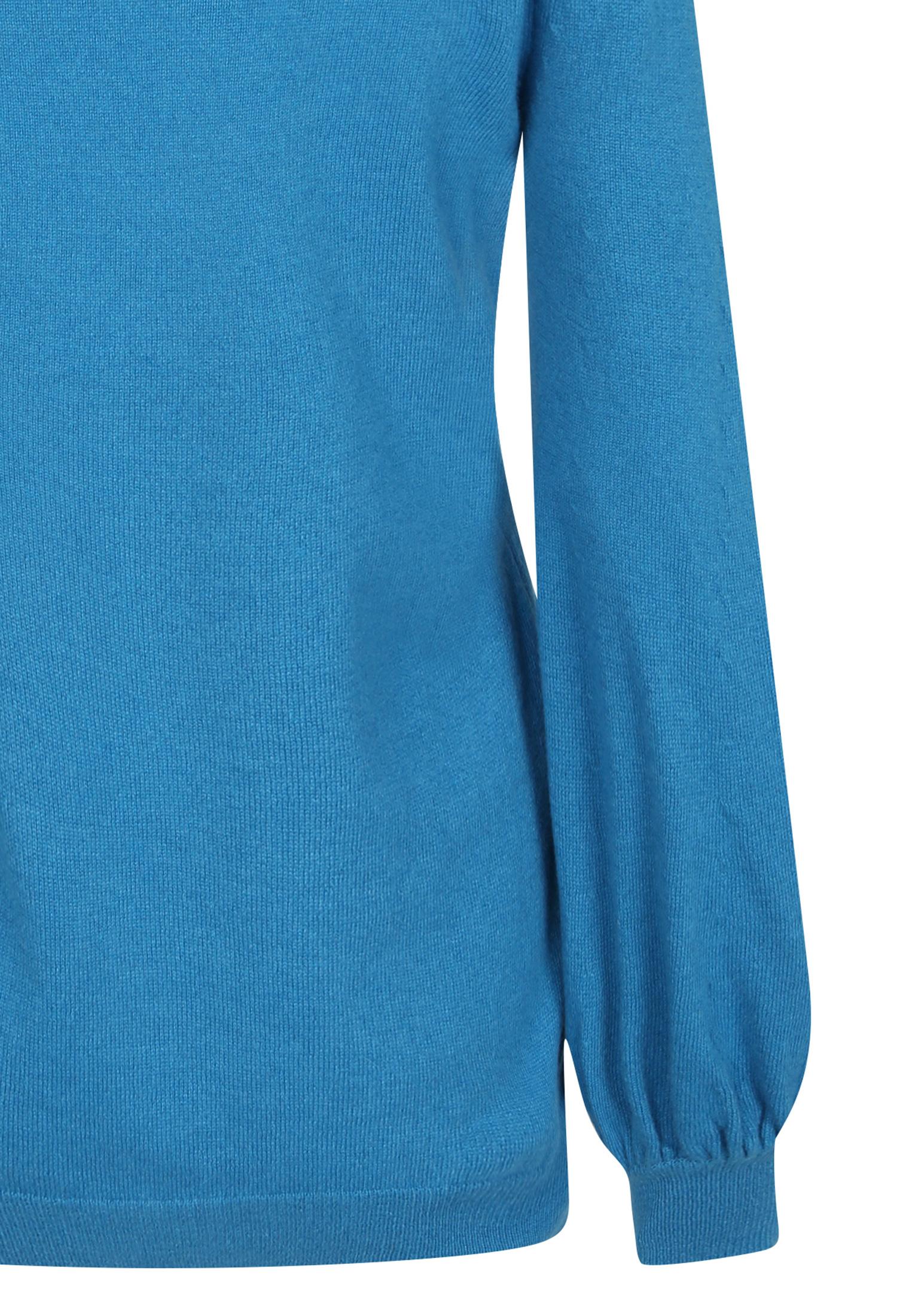 캐시미어 벌룬핏 풀오버 니트 (BLUE)
