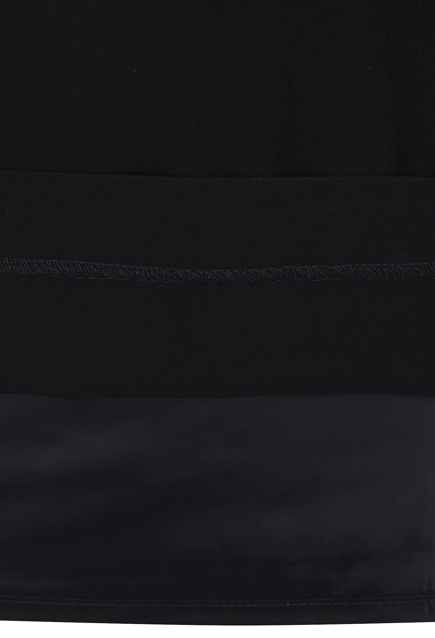 플랩 장식 배색 원피스 (NAVY)