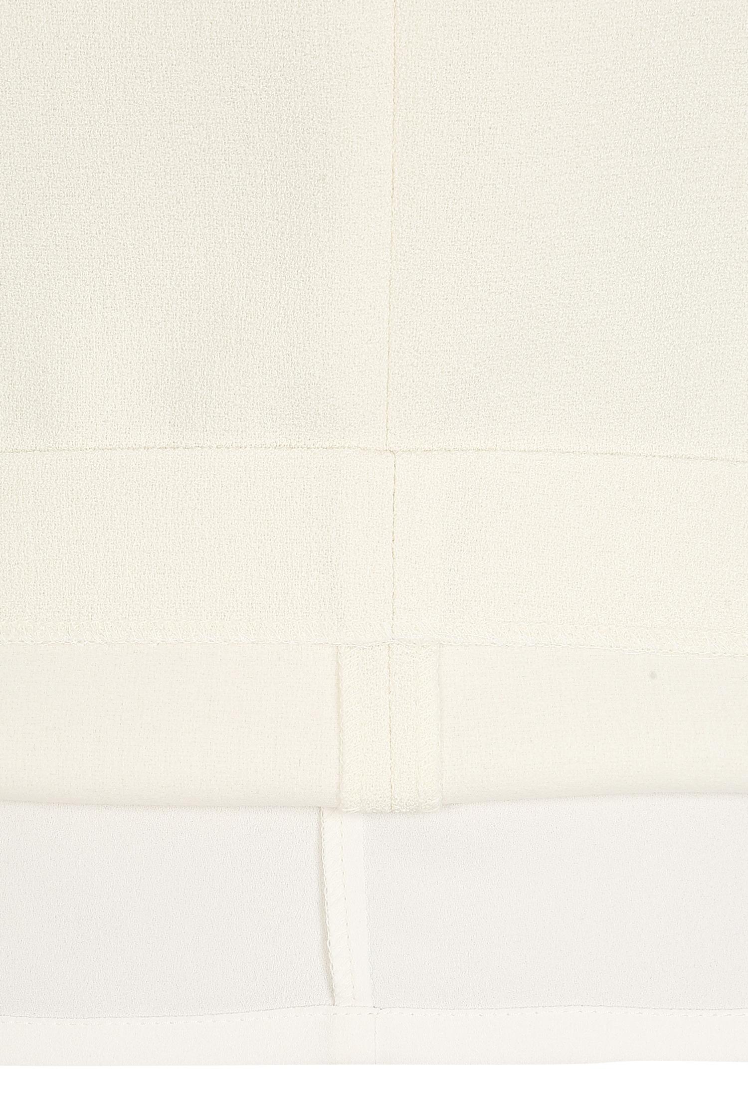 컬러 블록 슬릿 스커트 (IVORY)