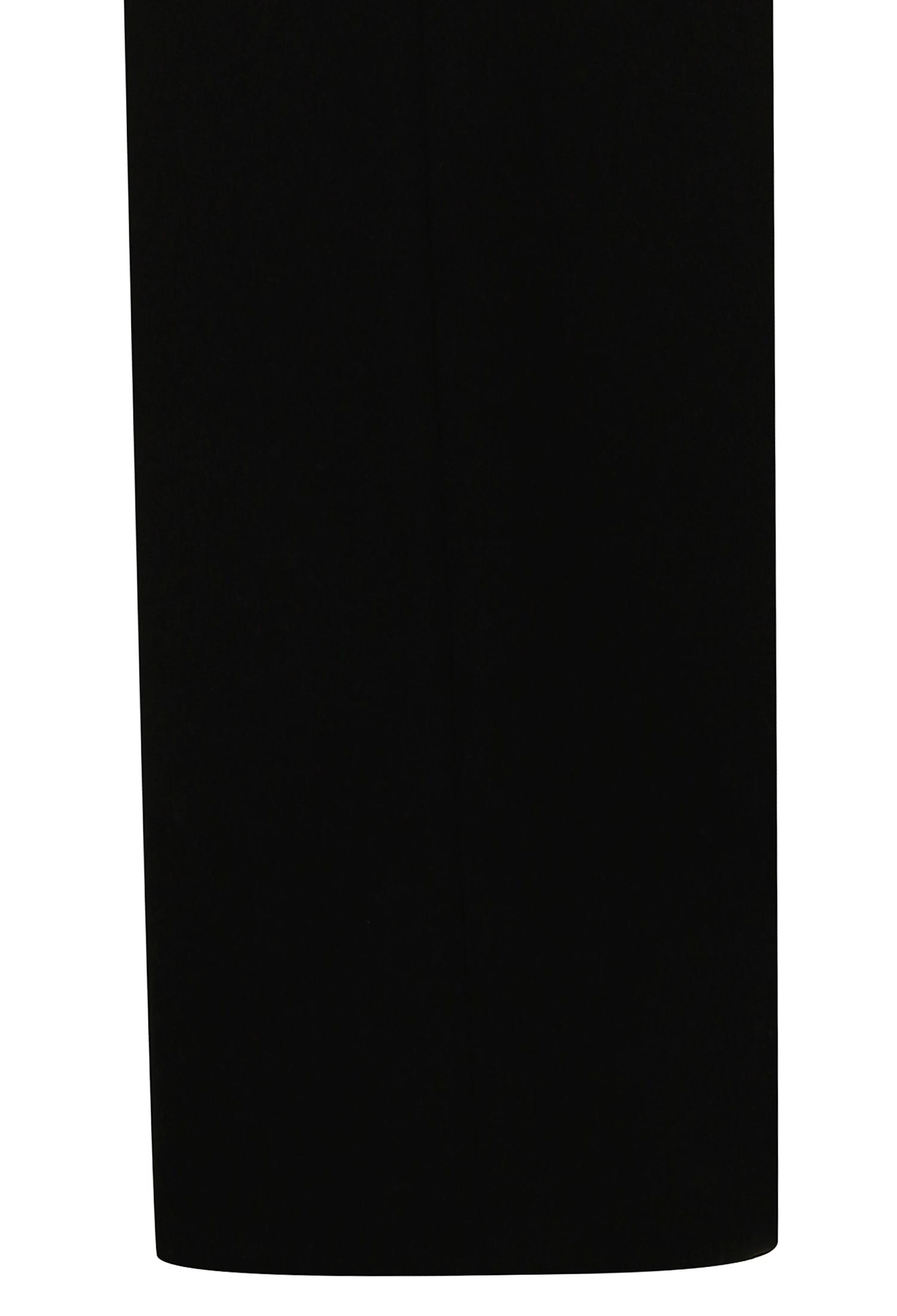 스판 혼방 와이드 팬츠 (BLACK)