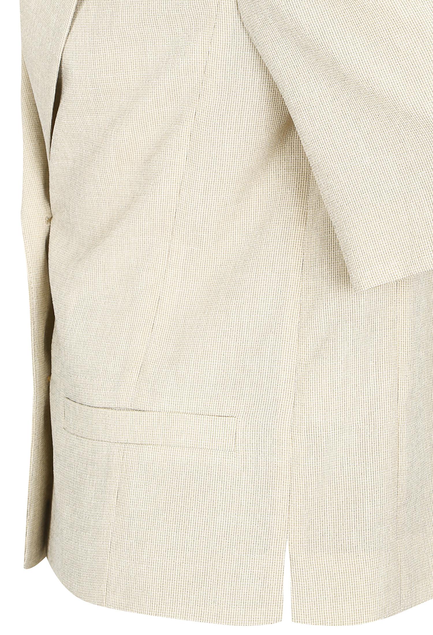 잔체크 하프 슬리브 자켓 (LIGHT/BEIGE)