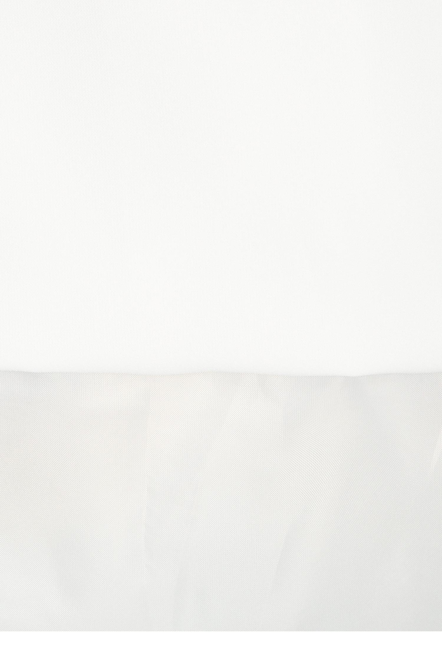 백 밴딩 플라운스 스커트 (WHITE)