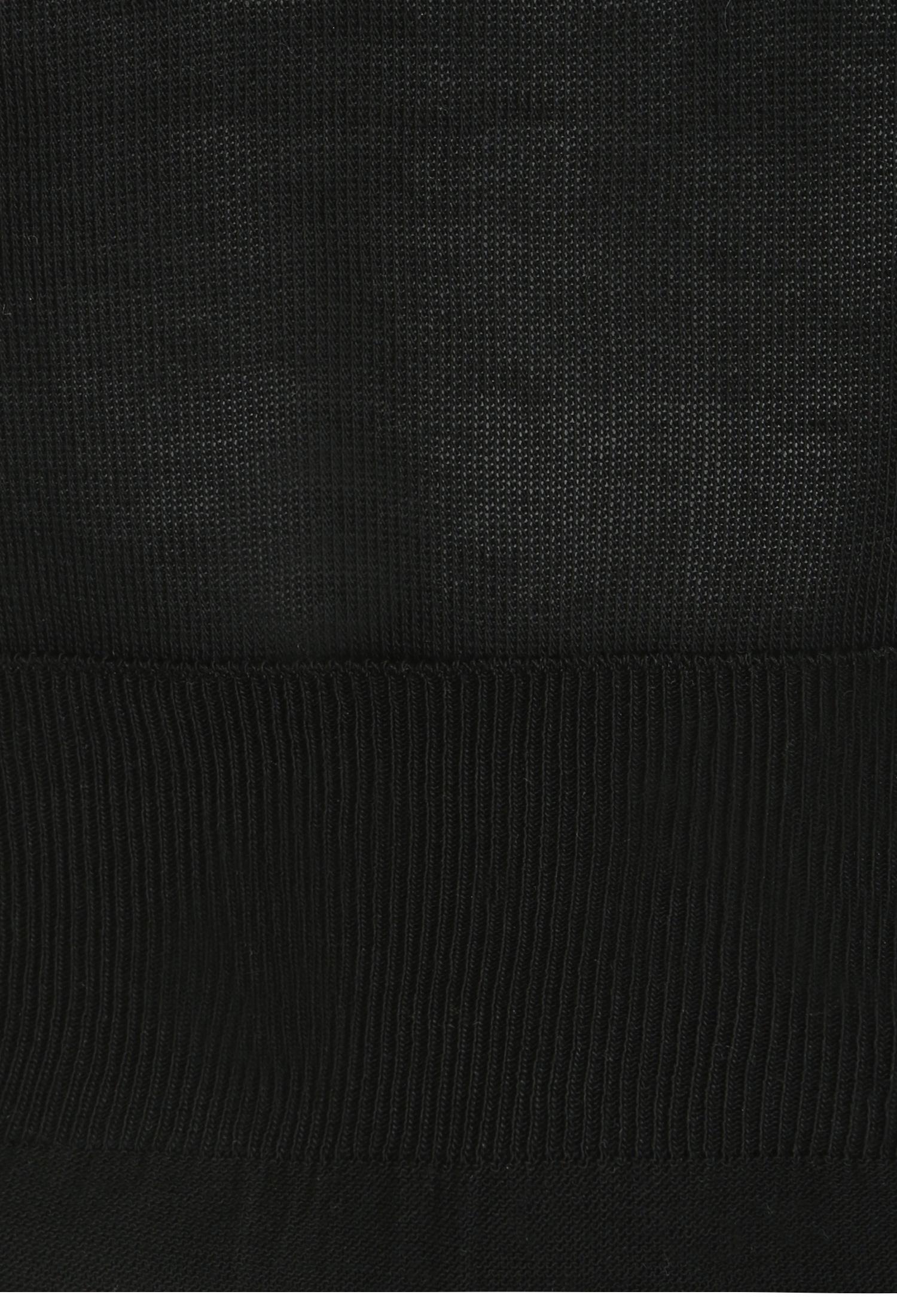 퍼프 슬리브 풀오버 니트 (BLACK)
