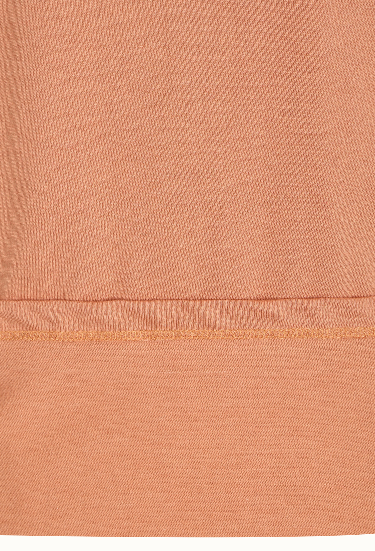 턱 장식 레글런 티셔츠 (CORAL)