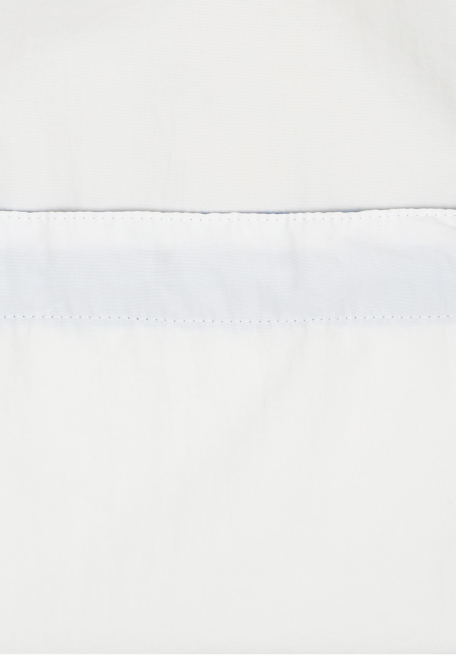 헴라인 배색 스트링 점퍼 (WHITE)