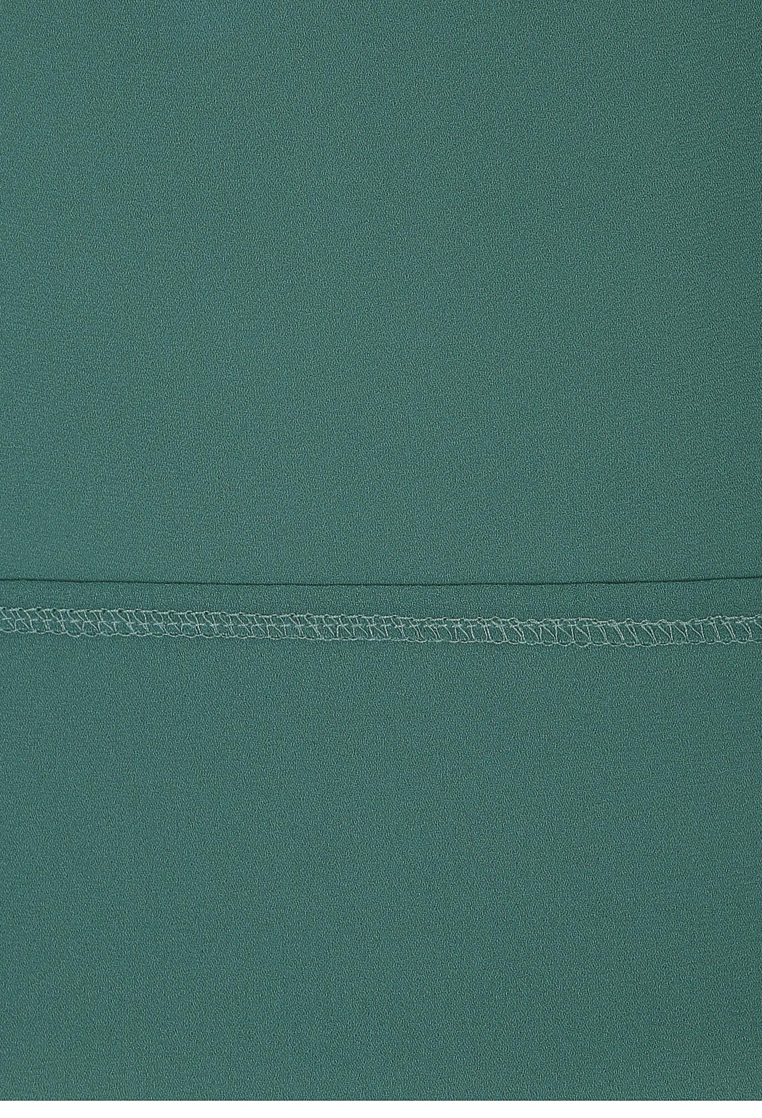 브이넥 플랩 퍼프 블라우스 (GREEN)