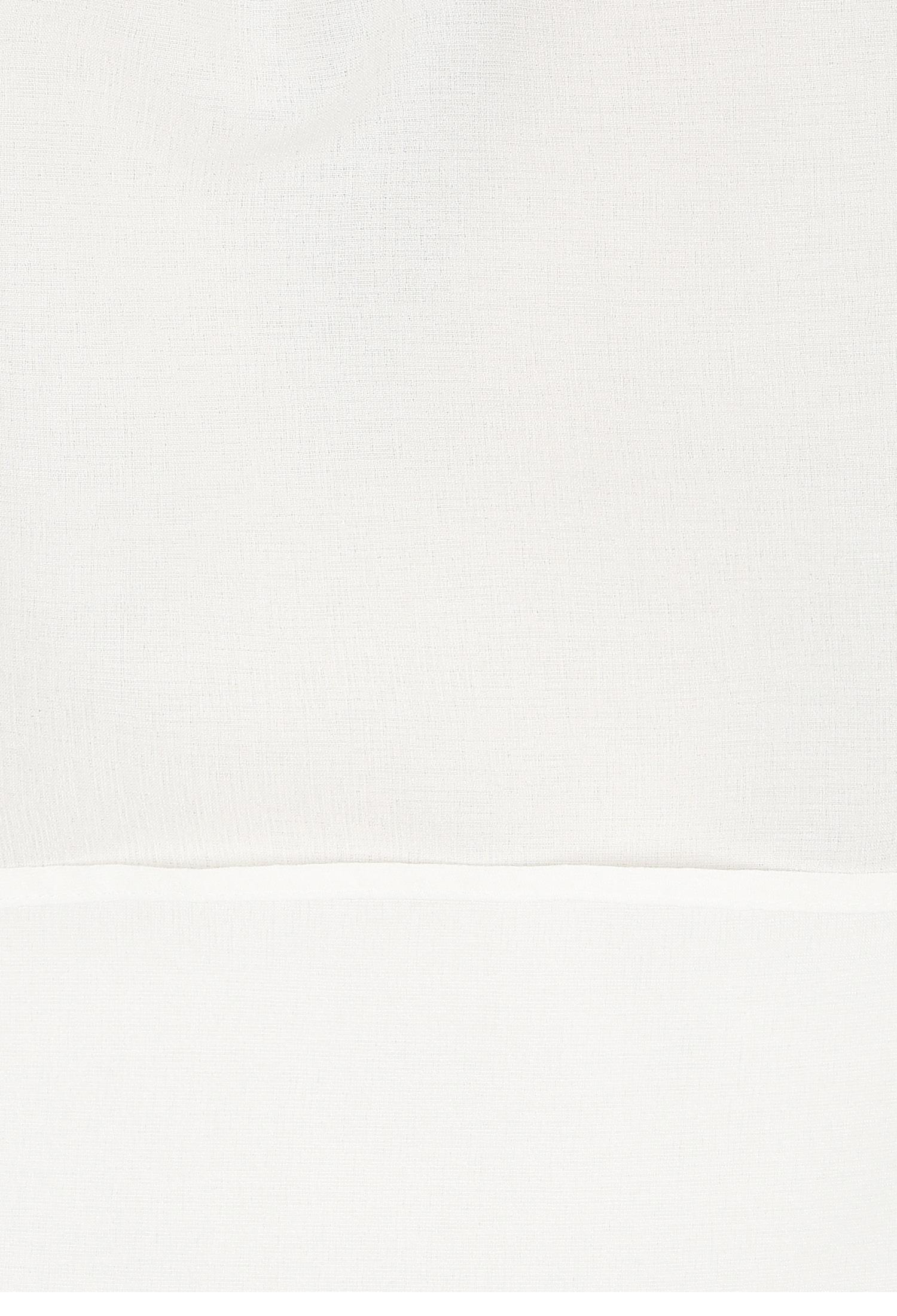 더블 칼라 셔링 퍼프 블라우스 (WHITE)