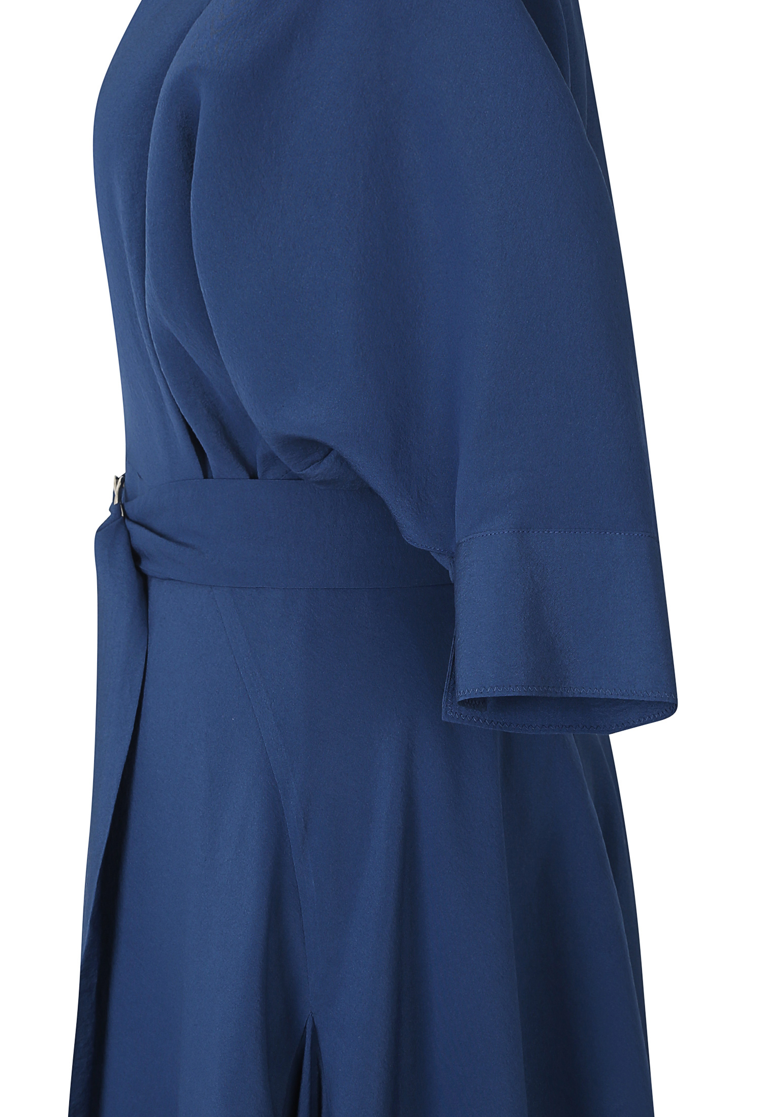 돌먼 슬리브 플레어 원피스 (BLUE)