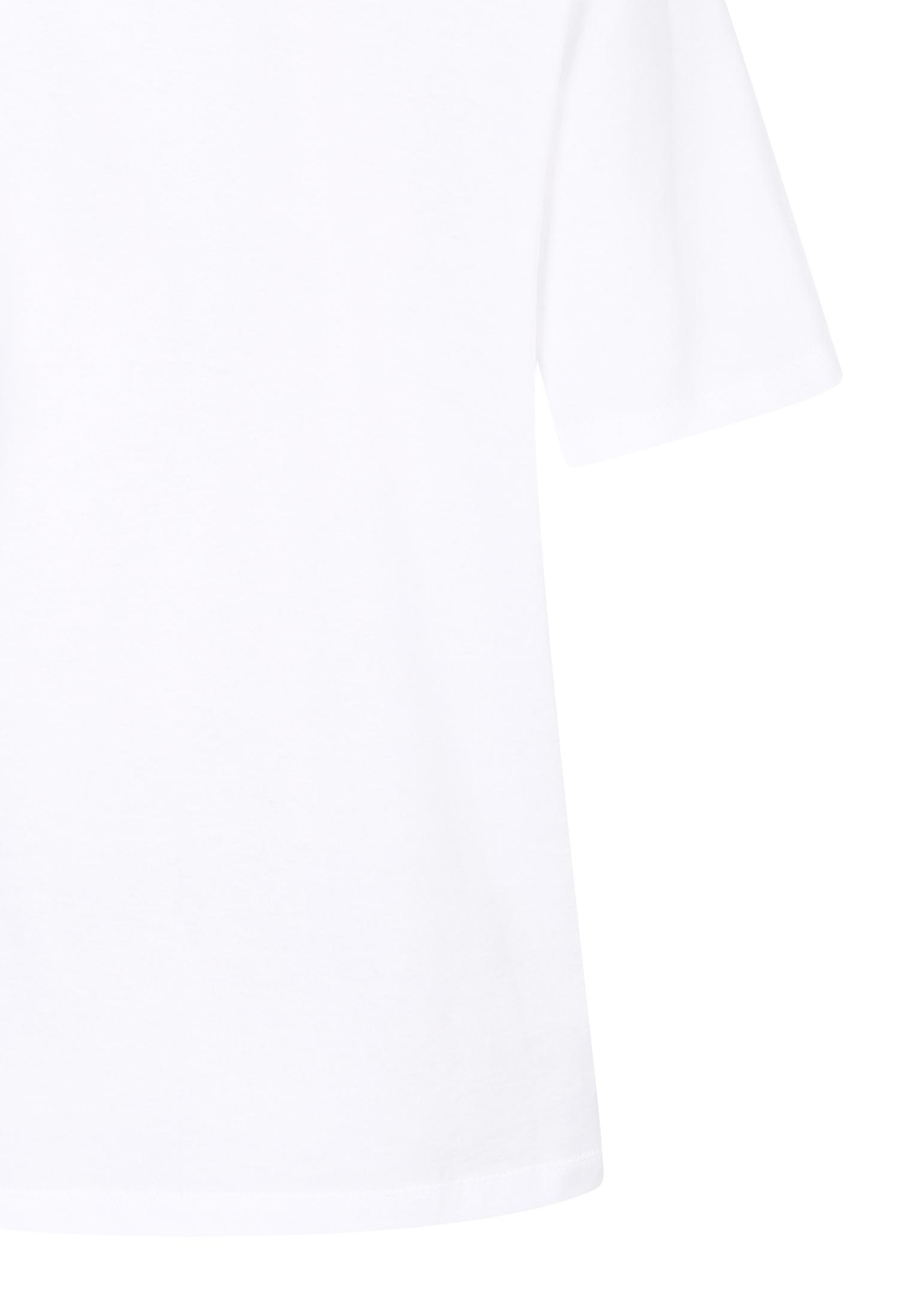 사이드 라인 프린트 티셔츠 (WHITE)
