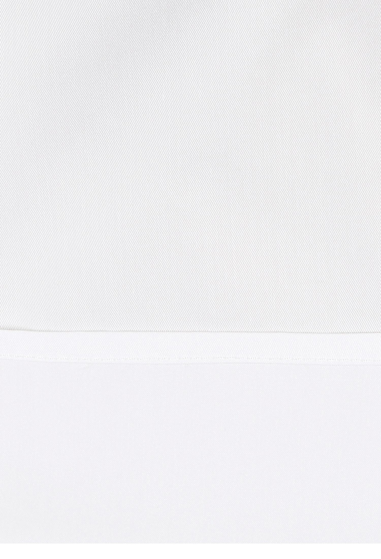 플랩 포켓 크롭 블라우스 (WHITE)